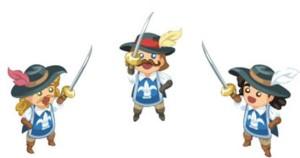 mini musketeers