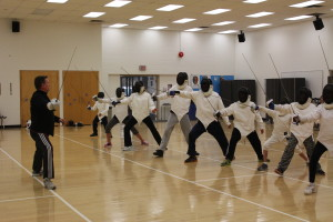Sabre Fencing Camp